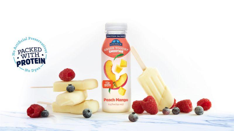 Grab-and-Go Greek Yogurt Smoothies