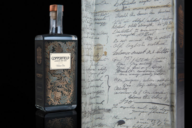 Literature-Inspired Gin Labels