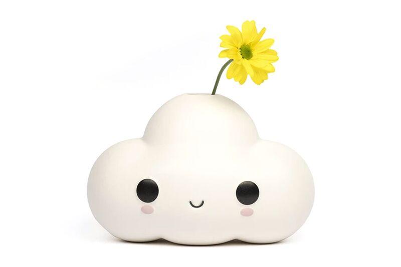 Smiling Cloud Vases