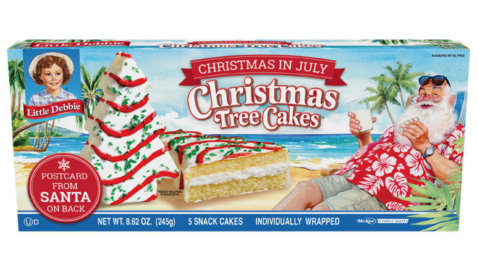 Summery Christmastime Cakes