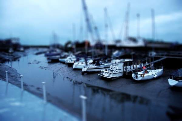 Tilt-Shift Shore Towns