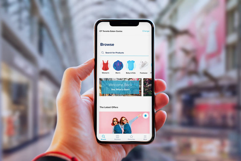 Branded Business-Supporting Shopping Apps