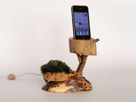 Arboreal Smartphone Docks