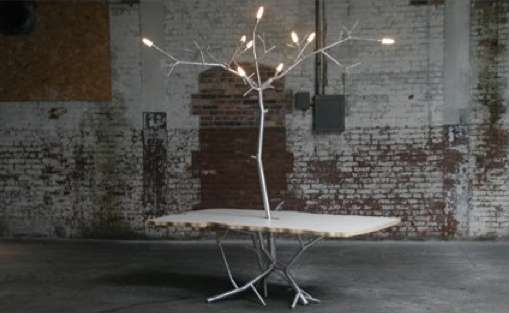 Illuminated Arboreal Tables