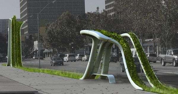 Green Urban Sculptures