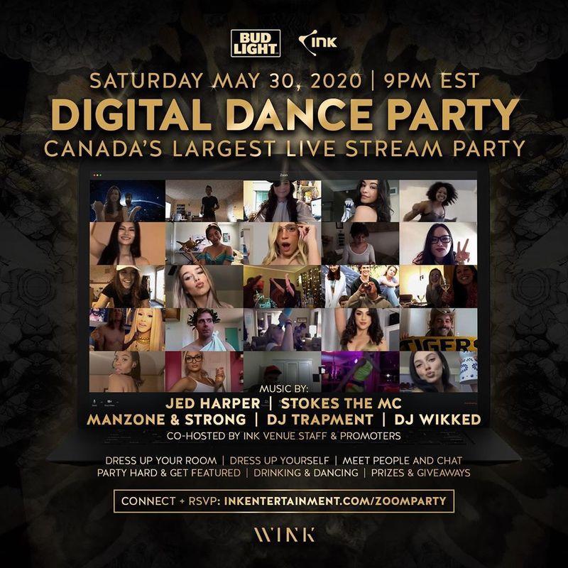 Digital Dance Parties
