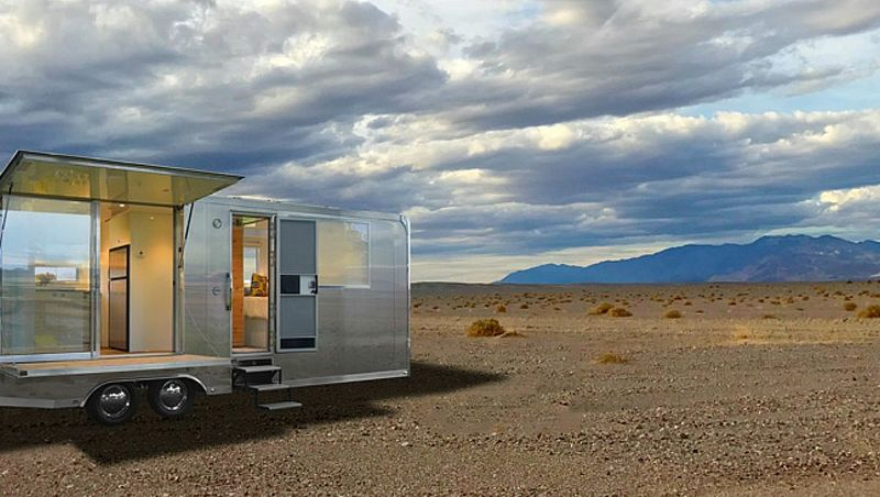 Sustainable Aluminum Mobile Homes