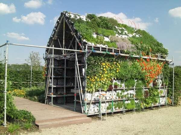 Edible Garden Sheds Living Wall Eathouse