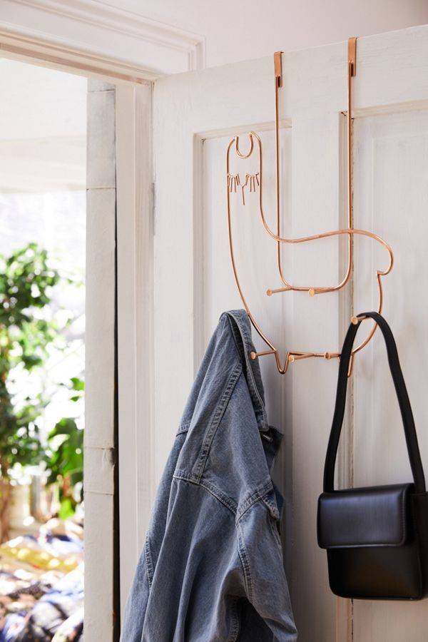 Llama-Shaped Door Hooks