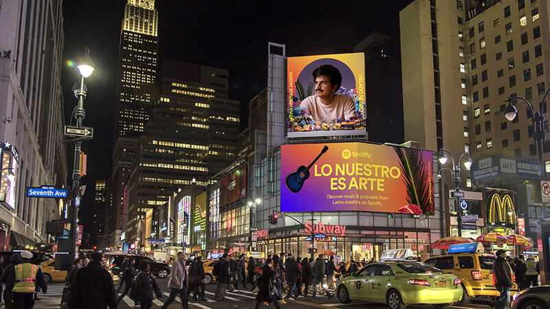 Latinx Artist-Celebrating Campaigns