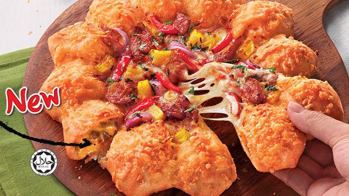 Overstuffed Pizza Crusts