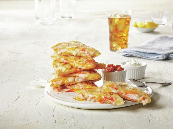 Lobster-Stuffed Quesadillas