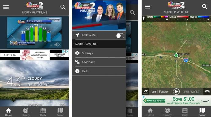 Localized Weather Apps