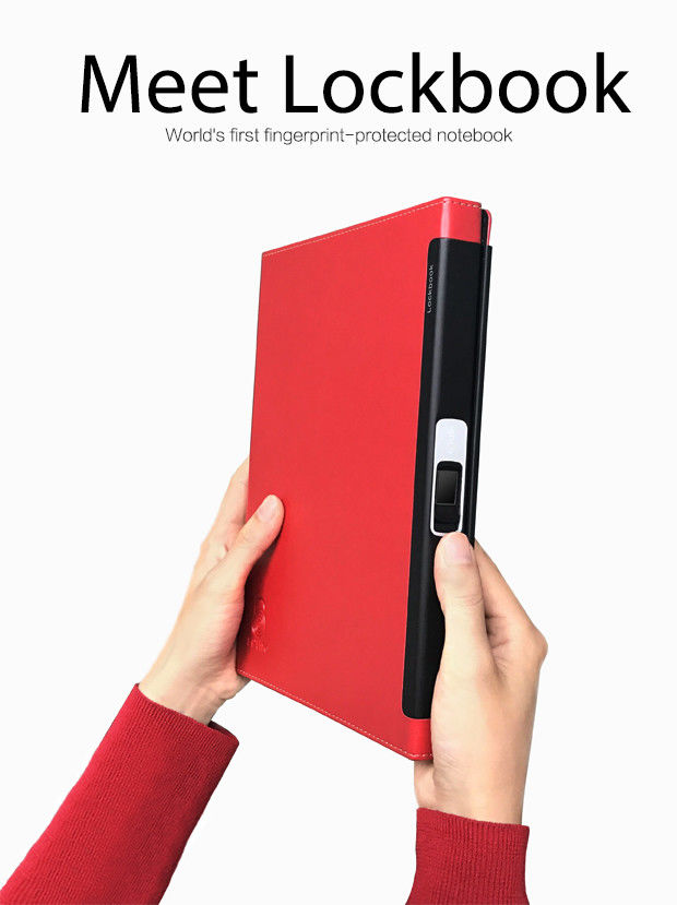 Fingerprint-Secured Notebooks