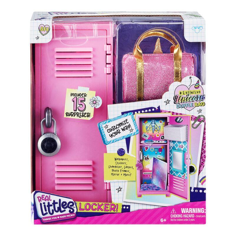 Miniature Locker Toys