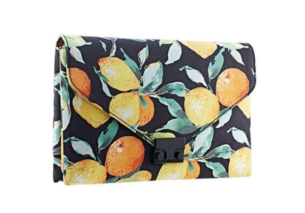 Citrus-Printed Fashion