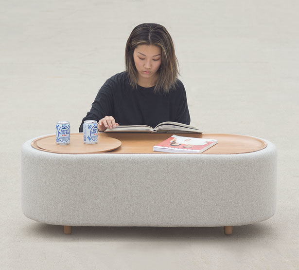 Tranquil Storage-Integrated Coffee Tables