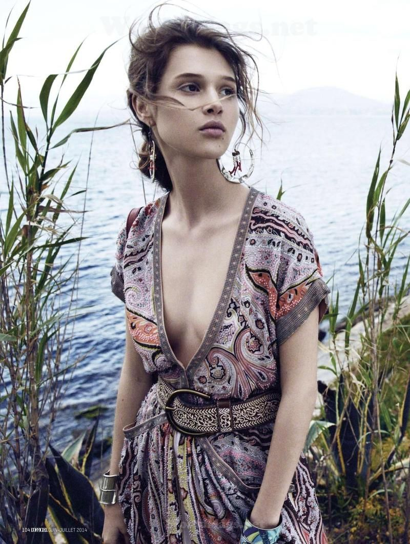 Boho-Luxe Beachside Editorials