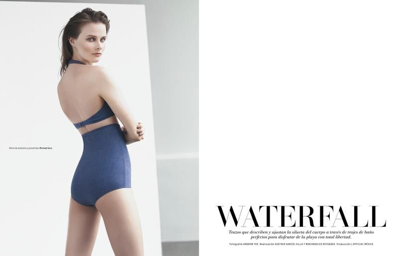 Sophisticated Swimwear Editorials