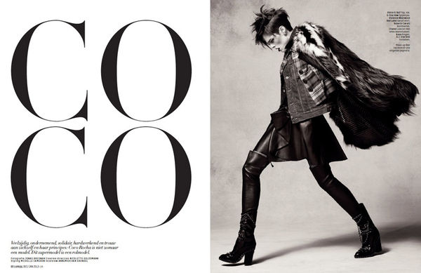 Dynamic Punk Editorials