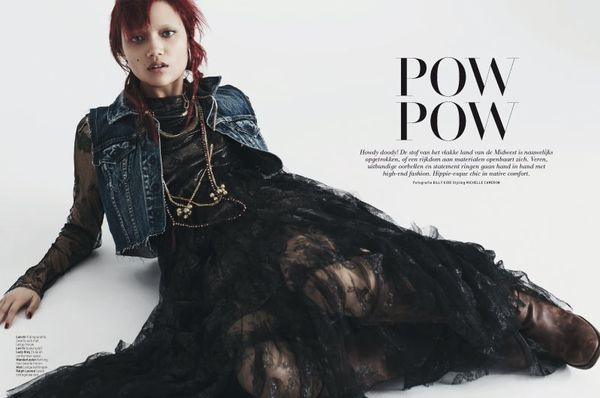 Punk Cowgirl Editorials