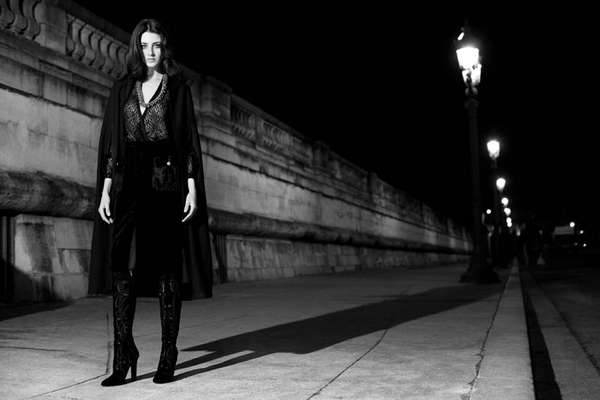 Nighttime Parisian Editorials