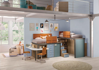 All-in-One Bedroom Units