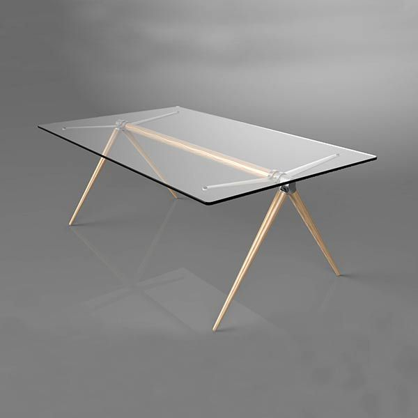 Minimalist Glass Tables