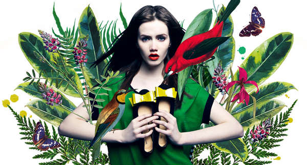 Charming Botanical Campaigns