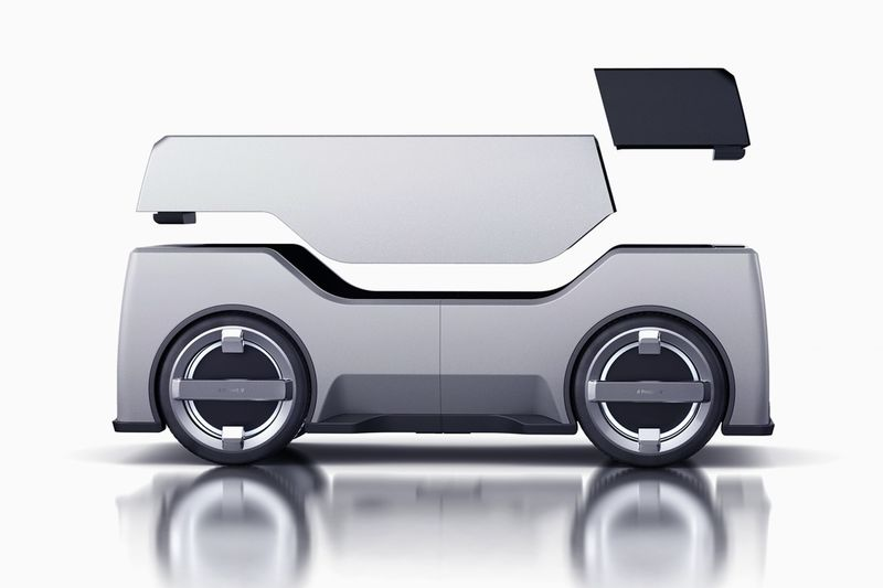 Modular Product Delivery Robots