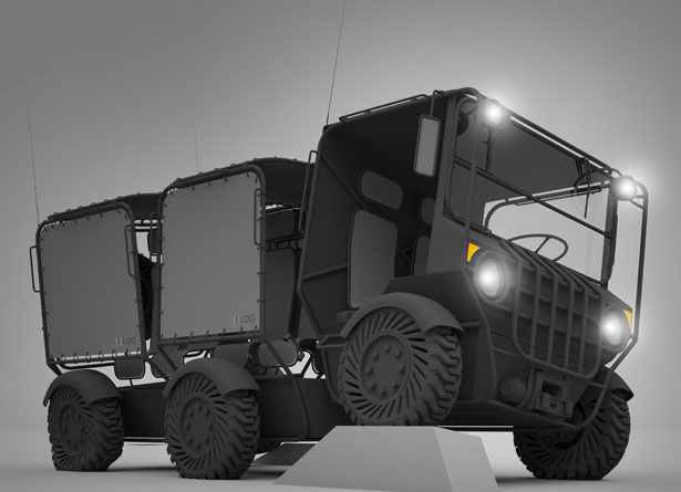 Modular Electric Military Vehicles