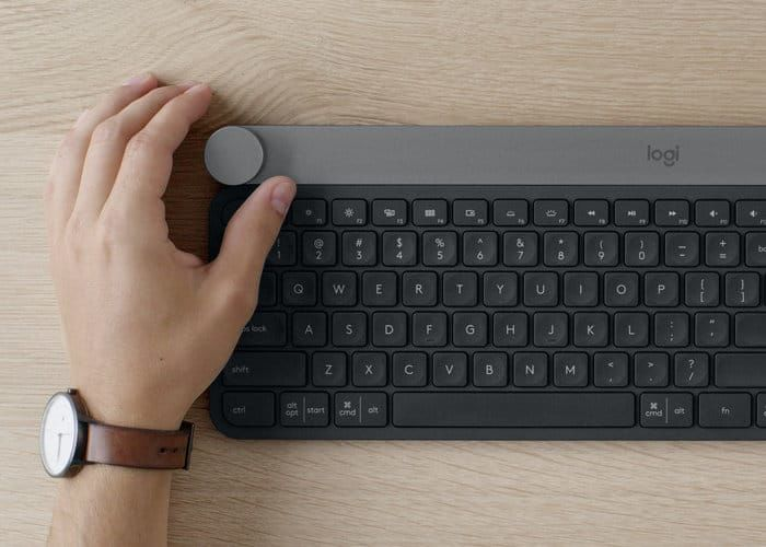 Tactile Keyboard Dials