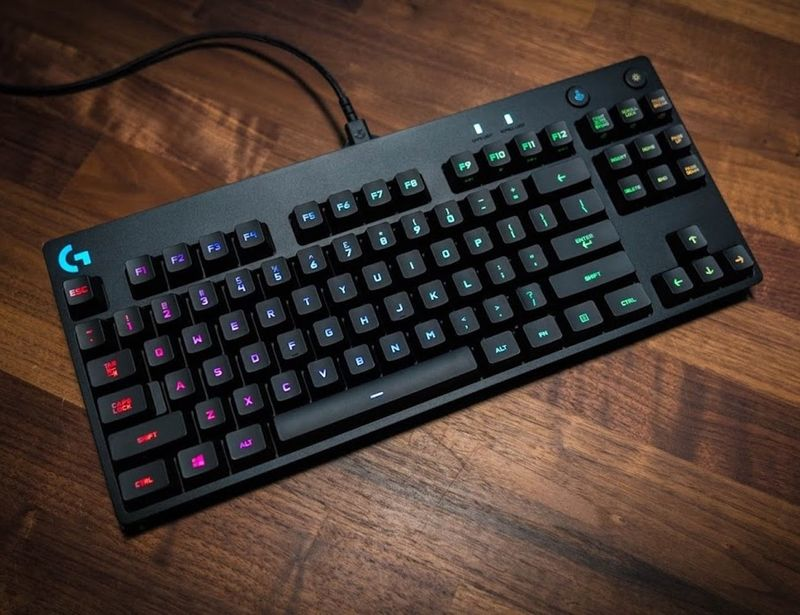 Professional eSports Athlete Keyboards