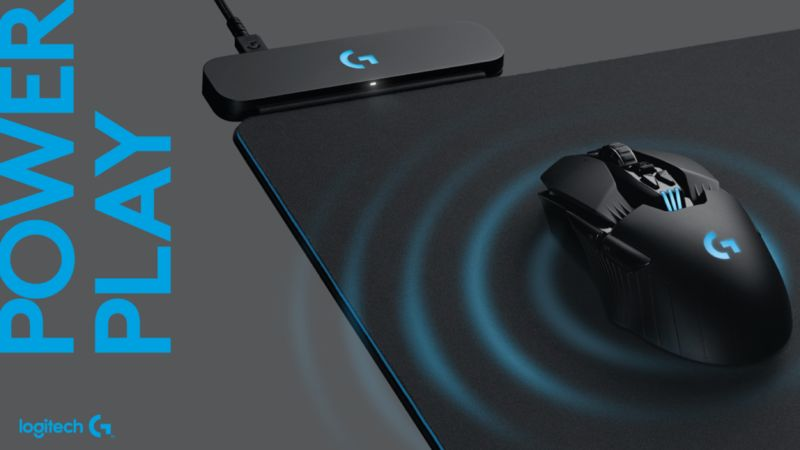 Mouse-Charging Desktop Pads
