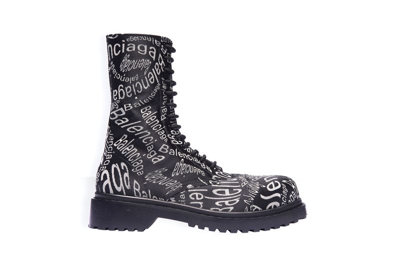 Branding-Adorned Luxe Boots