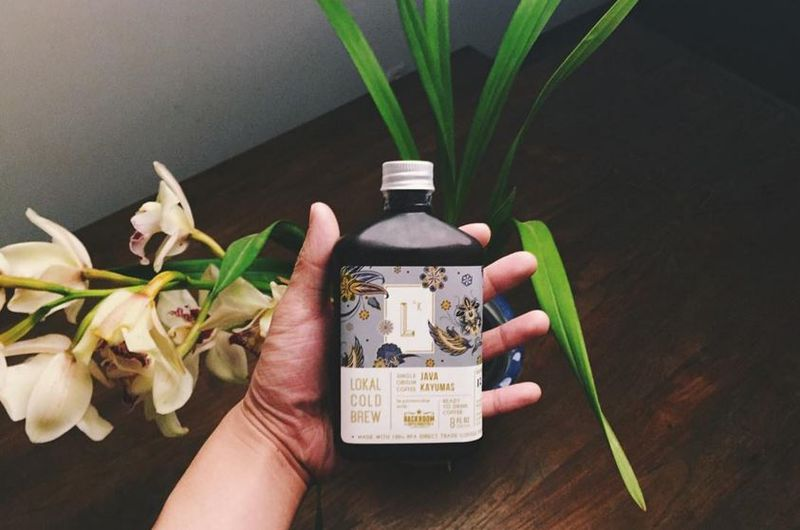 Botanical Cold Brew Branding