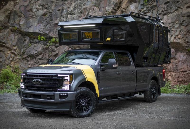 Pickup Truck Camper Pods