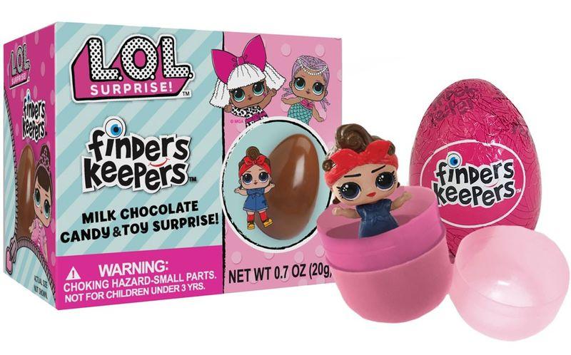 Egg-Embedded Doll Toys