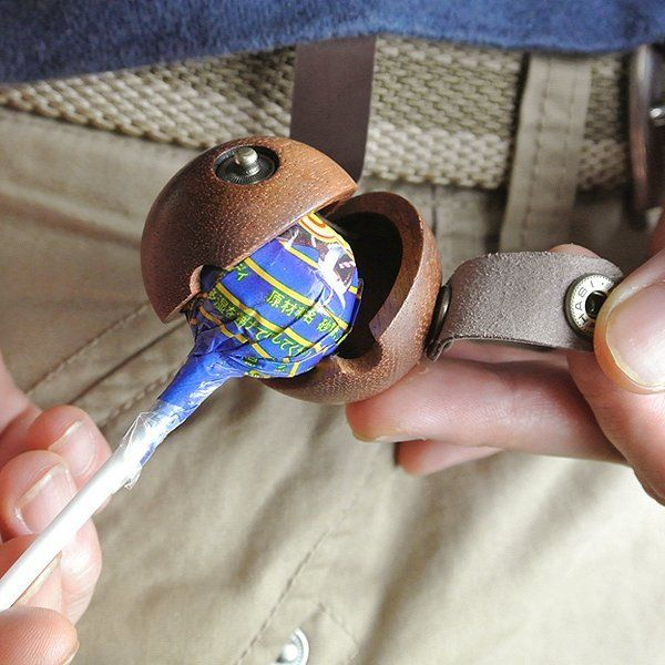 Luxury Leather Lollipop Holders