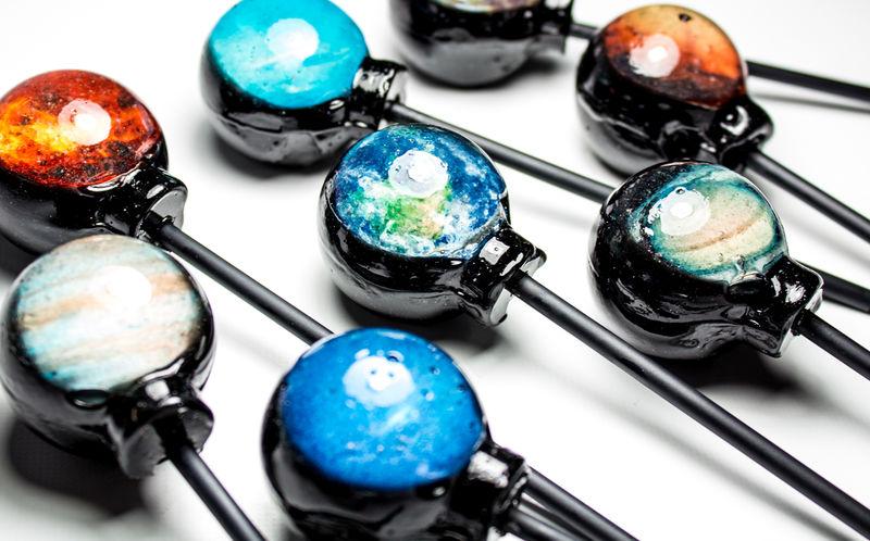 Planetary Lollipop Treats