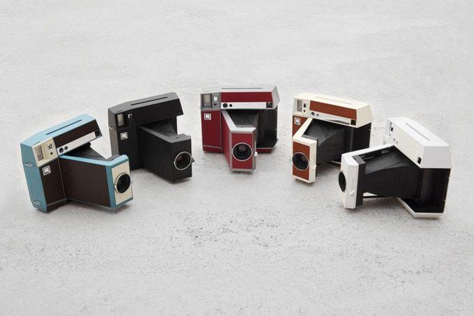 Modernized Instant Film Cameras