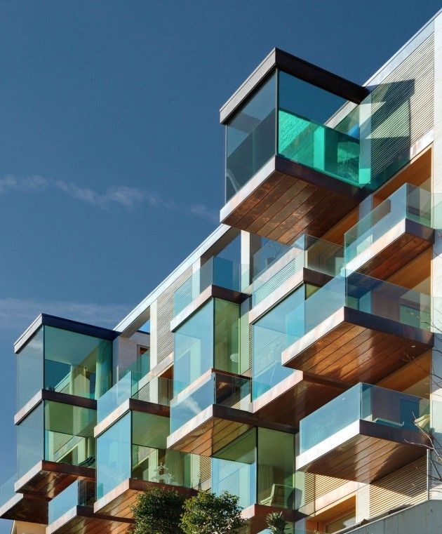 Luxuriously Cubed Condominiums