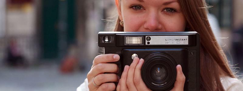 Retro Instant Cameras