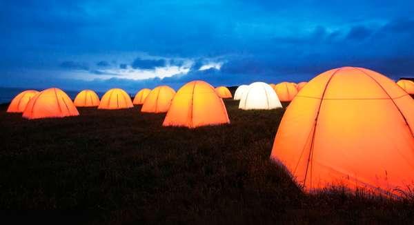 Singing Seaside Tents
