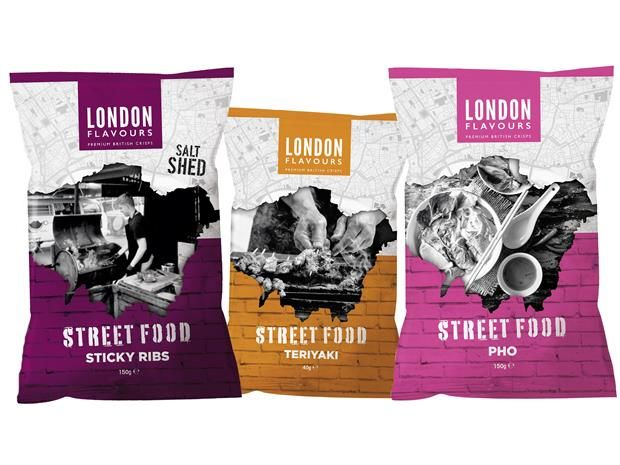 Street Food-Inspired Chips