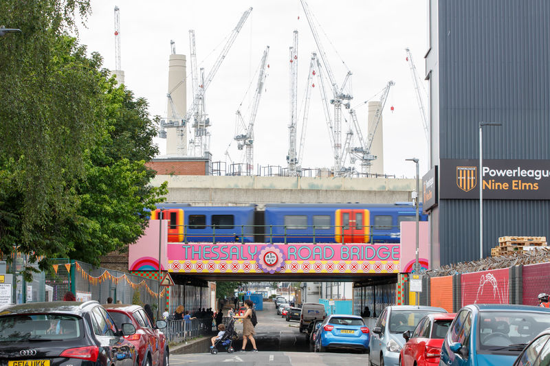 Whimsical London Railway Bridges