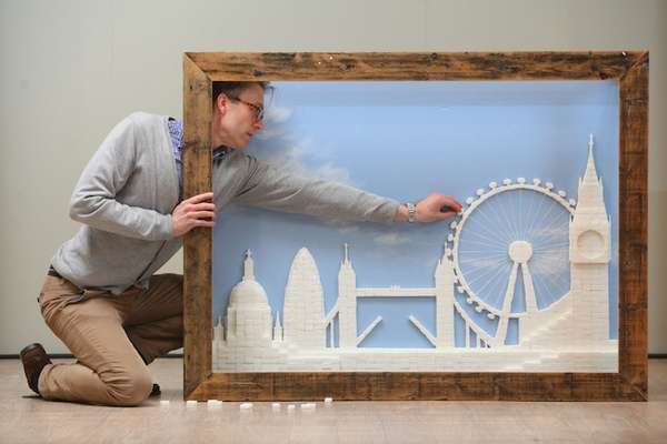 Sweet Skyline Sculptures