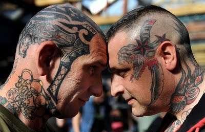 Tattoos as Hair