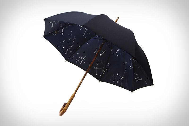 Simple Starry Umbrellas