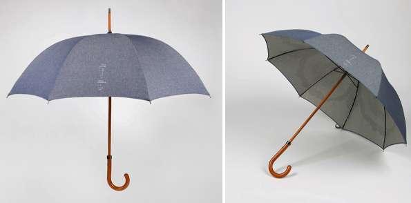 Designer Denim Parasols